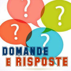 Domande e Risposte - FAQ