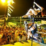 yellow night dance