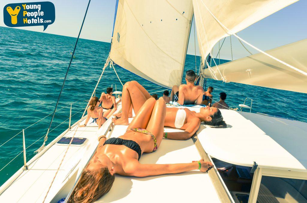 aperitivo in barca a vela rimini