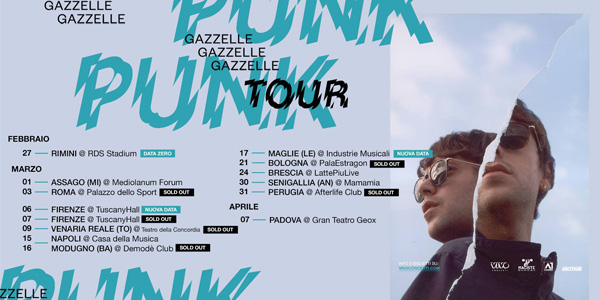 GAZZELLE - PUNK TOUR
