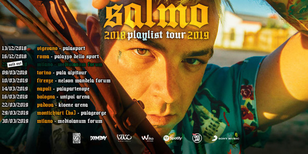 SALMO - 2018 PLAYLIST TOUR 2019