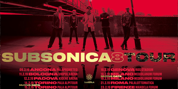 SUBSONICA - 8 TOUR