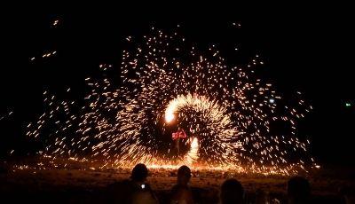 mare di fuoco rimini