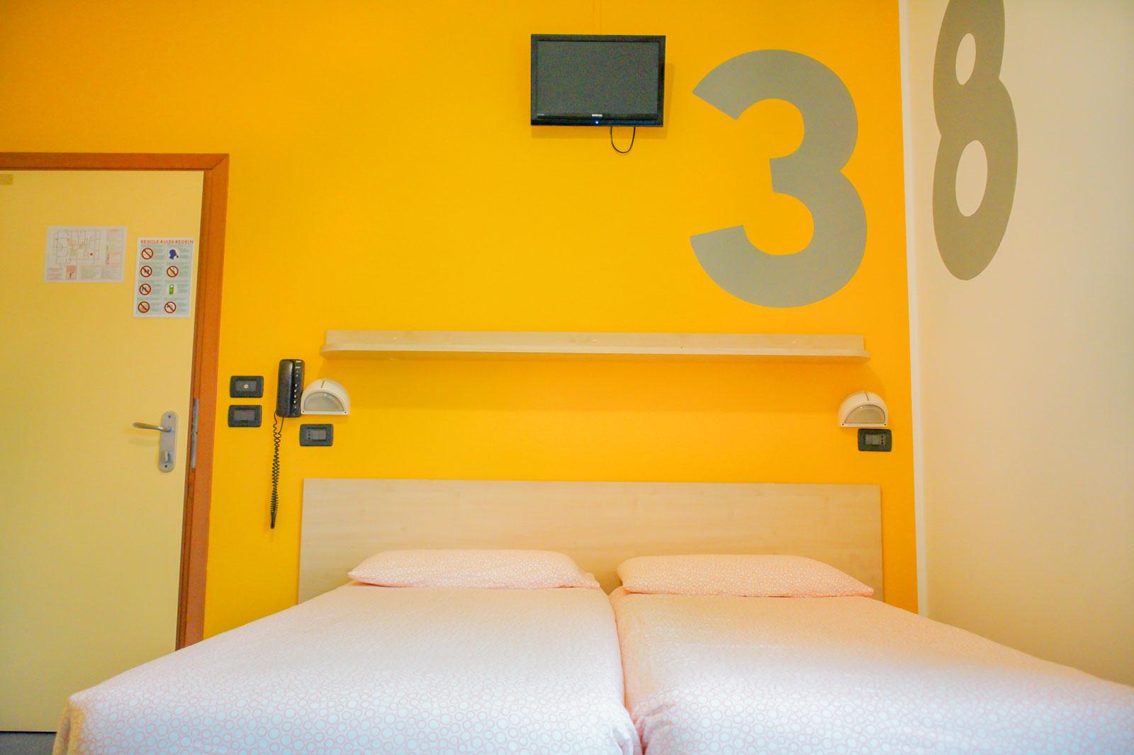 camera 3 Morfeo Rimini