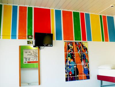 camera colori hotel Elba