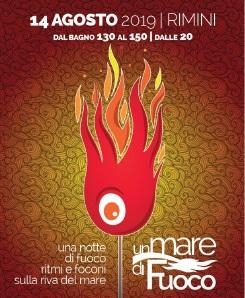 un mare di fuoco Rimini 2019